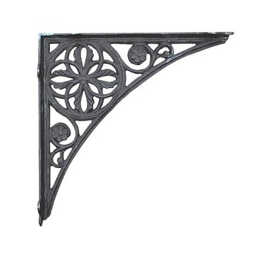 BLACK IRON BRACKET 15 1/2 X 15 1/2