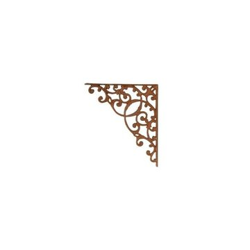 RUST IRON LACE BRACKET