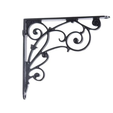 Restorers Swirls and Flowers Shelf Bracket