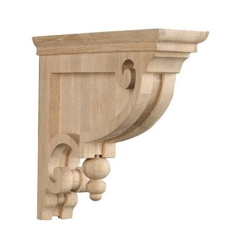 Designer Classic Victorian Bracket With Finial
