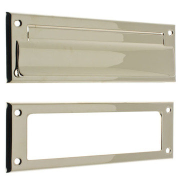 MAIL SLOT WITH OPEN BACKPLATE