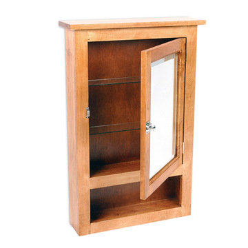 MAPLE PRIMITIVE SURFACE MOUNT MEDICINE CABINET