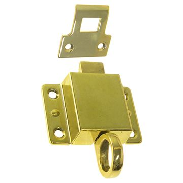 TRANSOM LATCH WITH UNIVERSAL CATCH