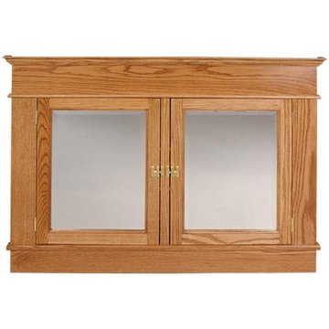 DOUBLE RECESSED MEDICINE CABINET KIT