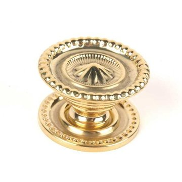 Restorers Classic Polished Brass Sheraton Knob