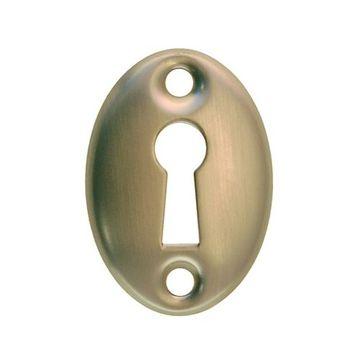 Restorers Classic Solid Brass Keyhole Escutcheon