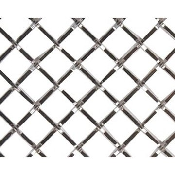 Kent Design 1216P 1/2 Square Press Crimp Wire Grille - 18 x 48