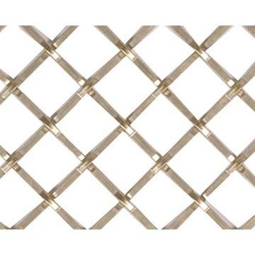 Kent Design 1216P 1/2 Square Press Crimp Wire Grille - 18 x 24