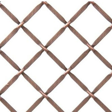 Kent Design 332P 3/4 Round Press Crimp Wire Grille - 18 x 24