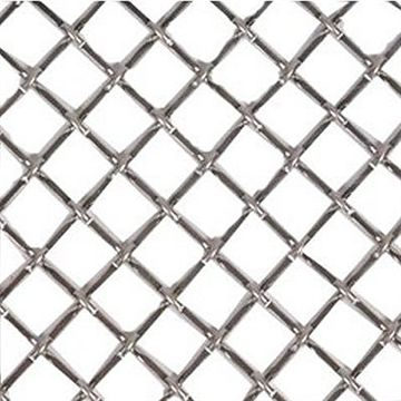 Kent Design 1214F 1/2 Round Flat Crimp Wire Grille - 18 x 48
