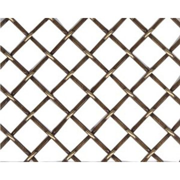 Kent Design 1214F 1/2 Round Flat Crimp Wire Grille - 18 x 24