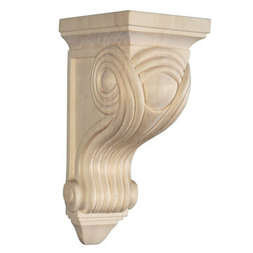 Legacy Signature 9 Inch Reeded Corbel