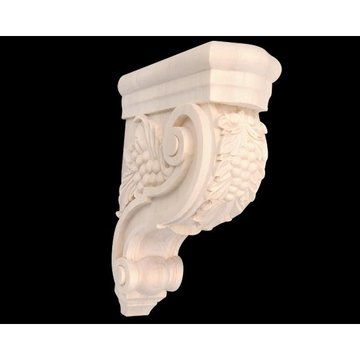 Legacy 12 Inch Scroll with Grapes Corbel