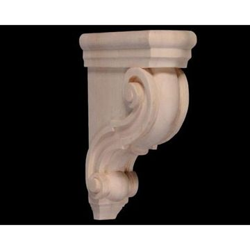 "Legacy 10 1/2"" Carved Scroll Corbel"