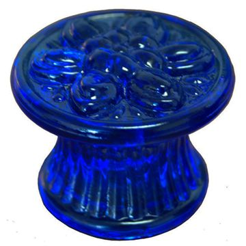 COLONIAL GLASS KNOB - 1 3/4 DIAM