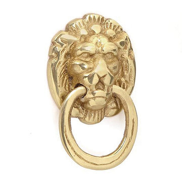 LION HEAD RING PULL