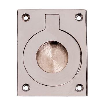 FLUSH RING RECESSED PULL