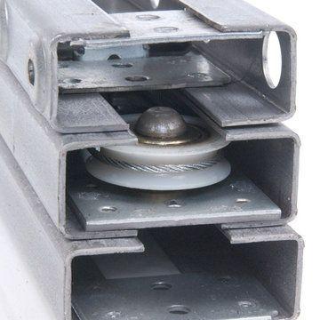 Steel Table Slide - Single Pedestal