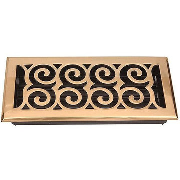 LEGACY SCROLL STYLE FLOOR REGISTER