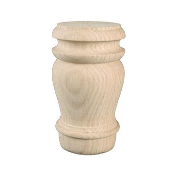 5 7/8 Inch Turned Furniture Leg