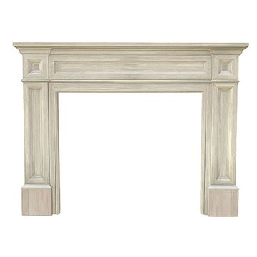 Pearl Mantels Unfinished Classique Mantel