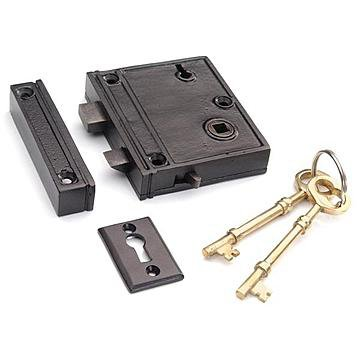 Restorers 2 3/8 Inch Backset Rim Lock