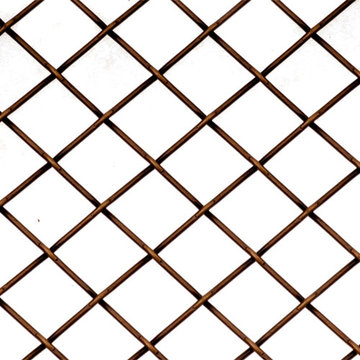Kent Design 5815P 5/8 Round Press Crimp Wire Grille - 36 x 48