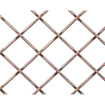 Kent Design 5815p 5/8 Round Press Crimp Wire Grille - 18 X 48