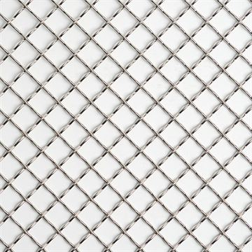 Kent Design 1218C 1/2 Round Intercrimp Wire Grille - 18 x 48