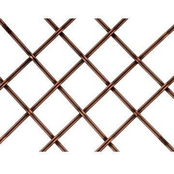 Kent Design 182P 1 Flat Fluted Press Crimp Wire Grille - 36 x 48