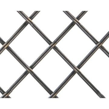 Kent Design 182P 1 Flat Fluted Press Crimp Wire Grille - 18 x 48