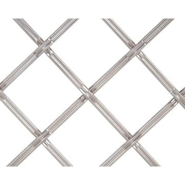 Kent Design 182P 1 Flat Fluted Press Crimp Wire Grille - 18 x 24