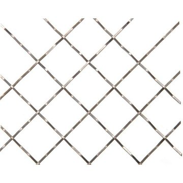 Kent Design 116C 1 Square Intercrimp Wire Grille - 18 x 48