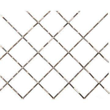 Kent Design 116C 1 Square Intercrimp Wire Grille - 18 x 48