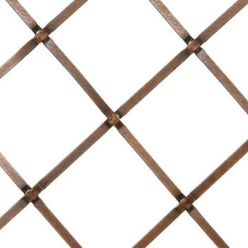 Kent Design 686p 1 1/2 Flat Press Crimp Wire Grille - 36 X 48