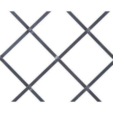 Kent Design 686P 1 1/2 Flat Press Crimp Wire Grille - 18 x 48