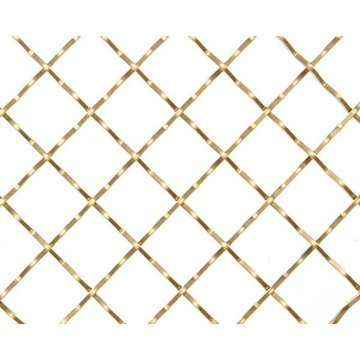 Kent Design 316C 3/4 Square Intercrimp Wire Grille - 18 x 48