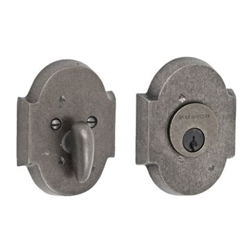 SCALLOPED SINGLE CYLINDER DEADBOLT