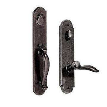 RIVER ROCK 2 3/4 HANDLE TO LEVER ENTRY SET