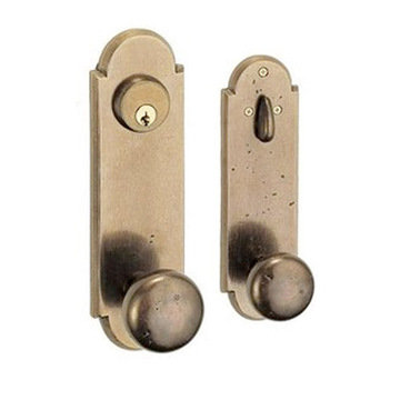 RIVER ROCK 2 3/8 ENTRY KNOB DOOR SET