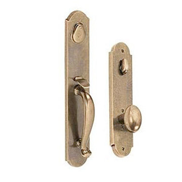 RIVER ROCK 2 3/8 HANDLE TO POTATO KNOB ENTRY SET