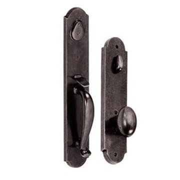 RIVER ROCK 2 3/4 HANDLE TO POTATO KNOB ENTRY SET