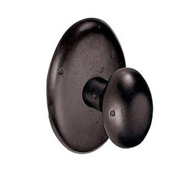 2 3/4 PRIVACY OVAL ROSETTE WITH POTATO KNOB SET