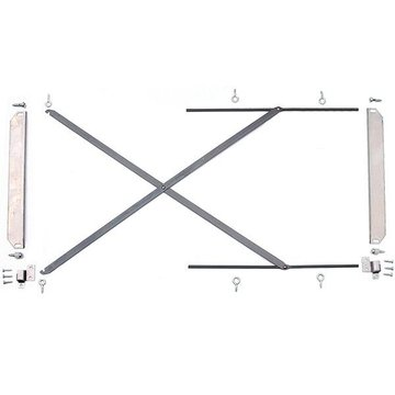 EQUALIZER HARDWARE FOR BOOKCASE          (S4871)