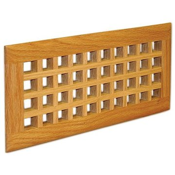 Grill Works Solid Red Oak Custom Egg Crate Insert