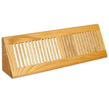 Grill Works  Solid Red Oak Base Vent