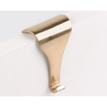 Restorers Brass Picture Frame Molding Hook