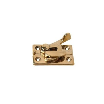 Restorers Polished Brass 2 1/2 Inch Window Sash Lock