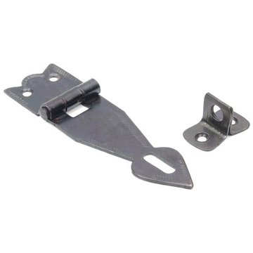 SPEAR POINT BLACK IRON HASP