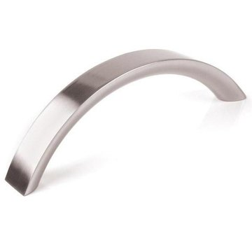 SATIN NICKEL ARCHED PULL